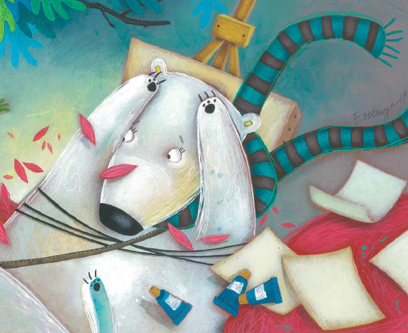Илюстрациите като картини от изложба