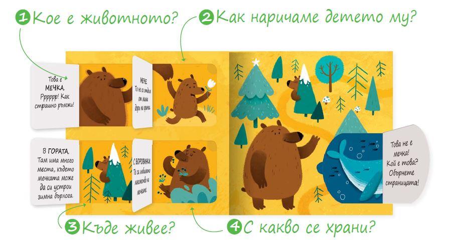 Играем, учим и растем! Познайте животните!